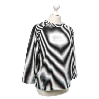 Whistles maglione a strisce in blu scuro / bianco