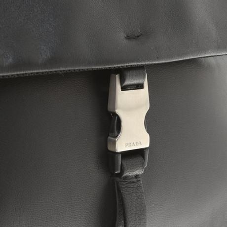 Kosten Verkauf Online Billig Perfekt Prada Lederrucksack in Schwarz Schwarz Steckdose Zuverlässig Eastbay Günstig Online Kaufen Sie Günstig Online V48NJQ