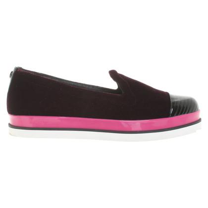 Armani Velvet loafers