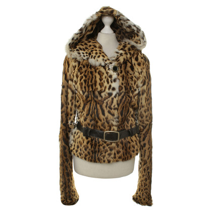 Pinko Real fur jacket