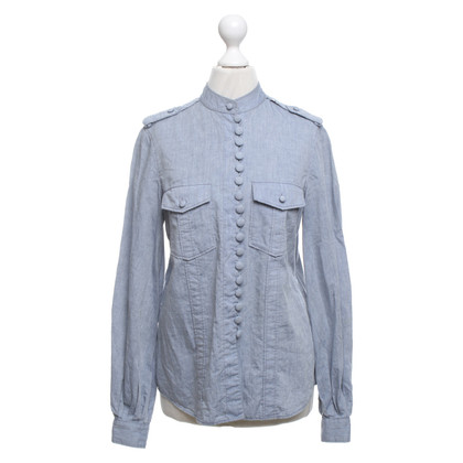 3.1 Phillip Lim Blouse in lichtblauw