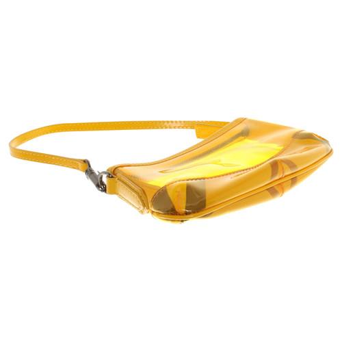 Burberry Schultertasche Gelb