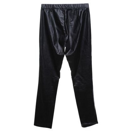 Isabel Marant Etoile Lederen leggings in zwart