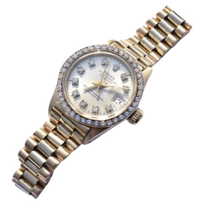 Rolex Wrist watch with diamonds