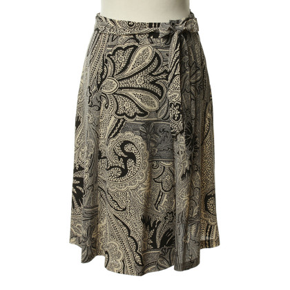 Etro Silk skirt in Emerald