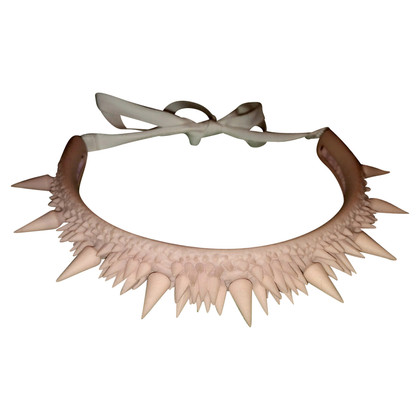 MM6 by Maison Margiela Collar in Nude