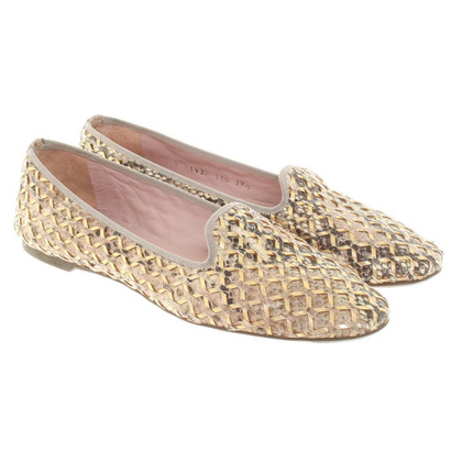 Pretty Ballerinas Mocassins en peau de serpent