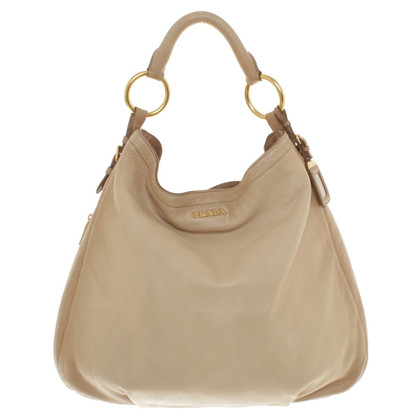 Prada Tote Bag in Beige