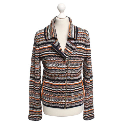 Chanel Cardigan with stripes pattern
