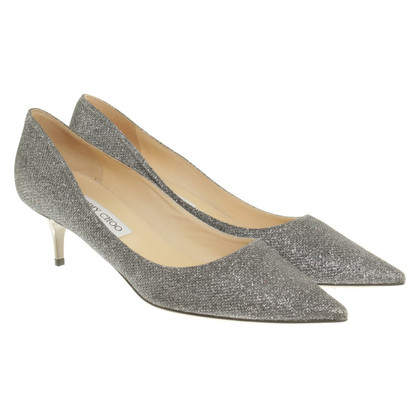 Jimmy Choo pumps in silver