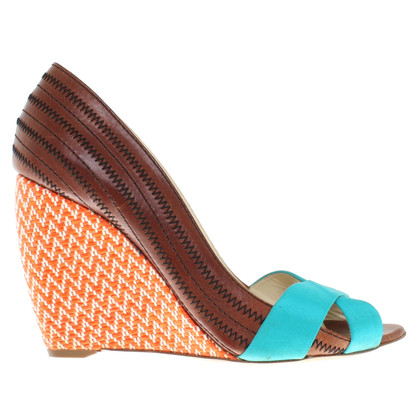 Rupert Sanderson Wedges in Multicolor