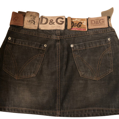D&G Mini skirt made of denim