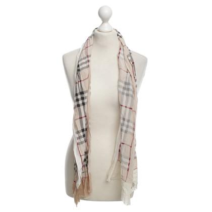 Burberry silk scarf Checked