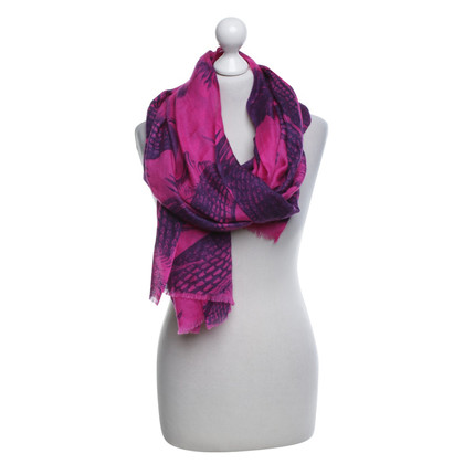 Friendly Hunting Scarf in pink