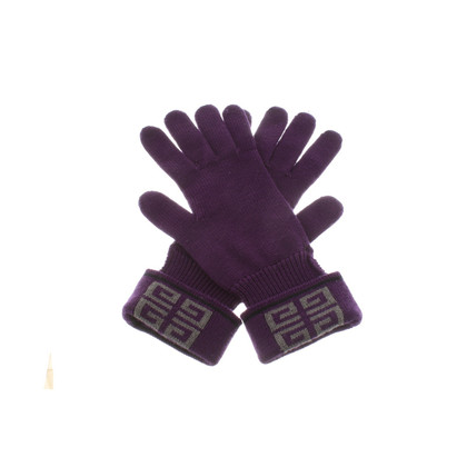 Givenchy Gloves in purple
