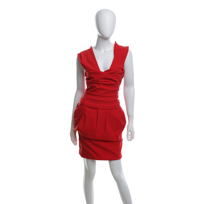 Preen Dress in red