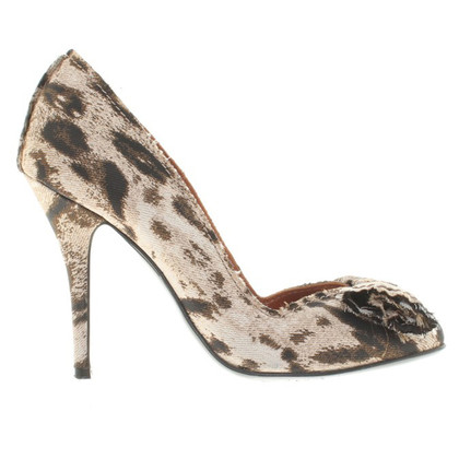 Lanvin pumps in leopard optica
