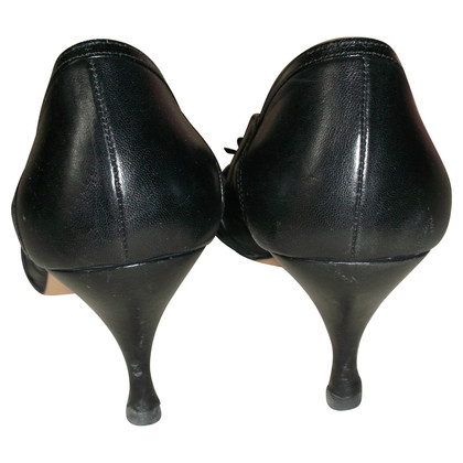 D&G Schwarze Open Toes/Pumps