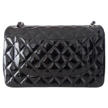 "Chanel ""Jumbo Double Flap Bag"" Patent Leather"