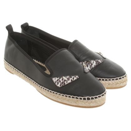 Fendi Leather espadrilles