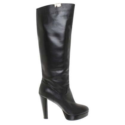 Elisabetta Franchi Boots in zwart