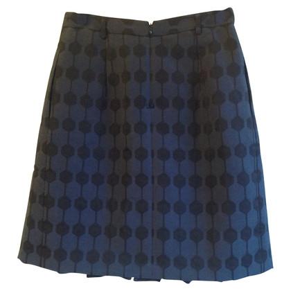 Steffen Schraut skirt with graphic pattern