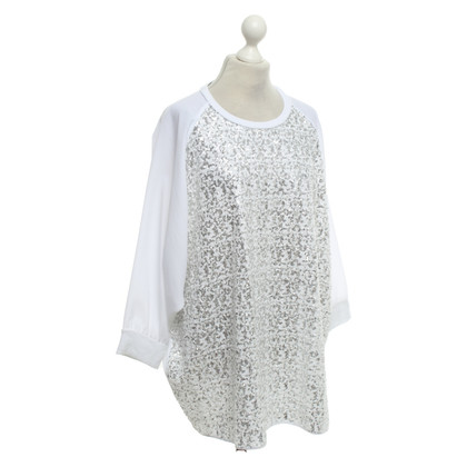 Moschino Love top with sequins