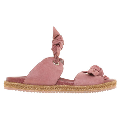 Jimmy Choo Sandals in stoffige roze