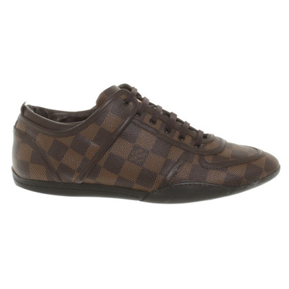 Louis Vuitton Sneakers uit Damier Ebene Canvas