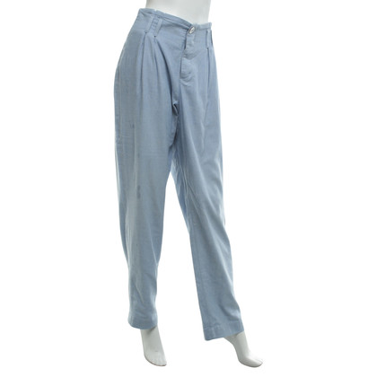 Giorgio Armani trousers in light blue
