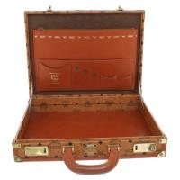 MCM Briefcase with monogram pattern