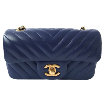 "Chanel ""Chevron Flap Bag Extra Mini"""