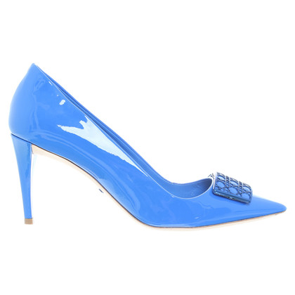 Christian Dior  pumps in blauw