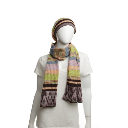 Missoni Set of scarf and hat