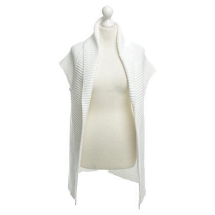 Marc Cain Sweater vest white