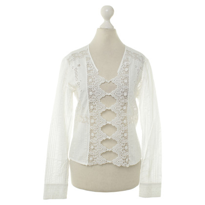 Gucci Blouse with lace details