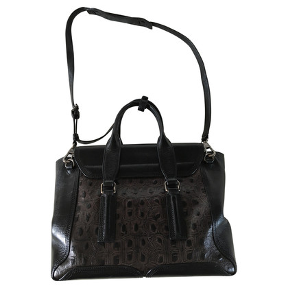 "3.1 Phillip Lim ""Pashli"" Medium Satchel in weich schwarz"