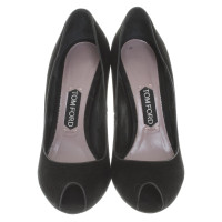 Tom Ford Peep-toes in black