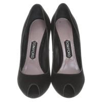 Tom Ford Peep-toes in black