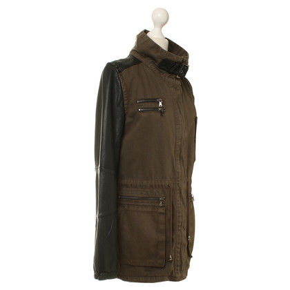 Other Designer Milestone - Parka with leather sleeves