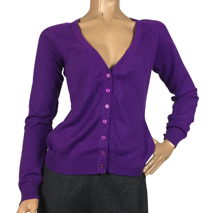 Emilio Pucci Purple cashmere cardigan