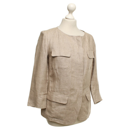 Max Mara Blazer in safari blik