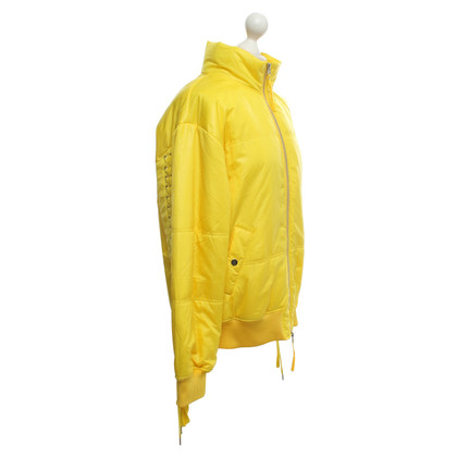 Other Designer Designer Remix Bomber Jacket in Yellow