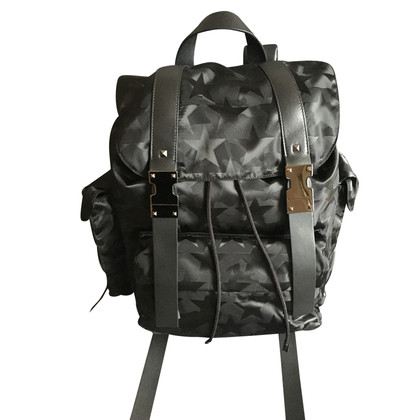 "Valentino ""Camo Star Drawstring Backpack"""