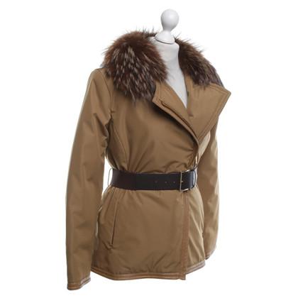 Moncler Jacket with fur trim
