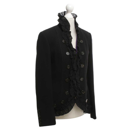 Nusco Blazer with ruffle trim