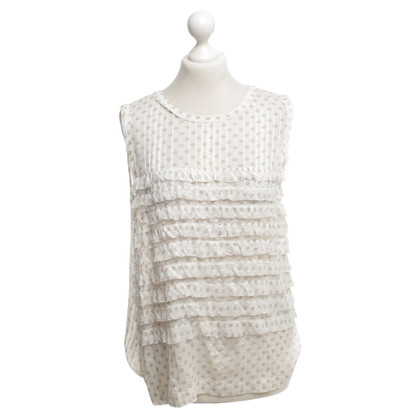 Marc by Marc Jacobs Top with frills