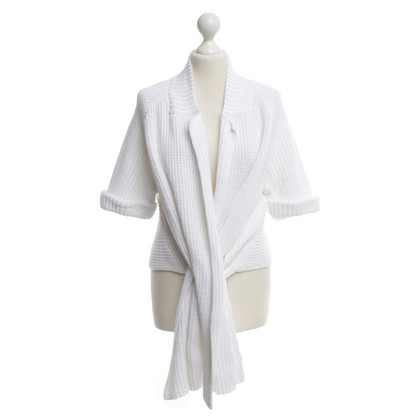 Carven Cardigan in white