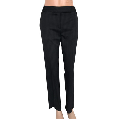 Hugo Boss pantaloni di lana a righe