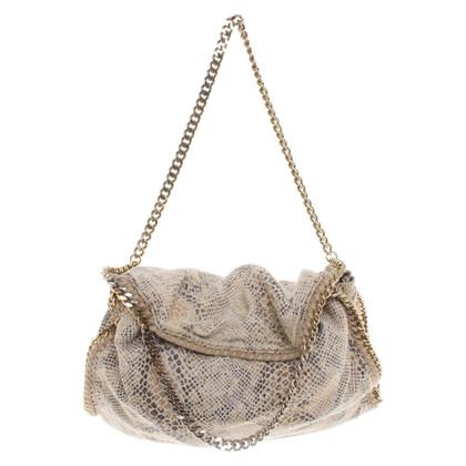 Stella McCartney '' Falabella Bag '' in reptile look